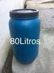 Bombona plástica 80 litros