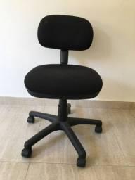 Cadeira Flexform Datylus Preta Escritório Home Office Giratória