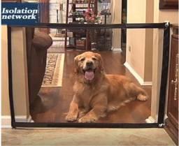 Capa Portão Malha Mágica Proteção Para Cão Gato Pet