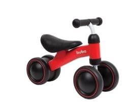 Bicicleta de equilibrio 4 rodas vermelha Buba