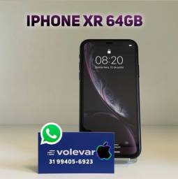 12x229 cartao! iPhone XR 64GB - Bateria 92% - Nenhuma marca de uso!