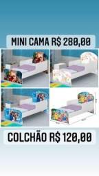 Mini cama personagens