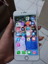 Troco iPhone 6s Plus gold 64g