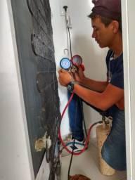 Técnico em conserto geladeira freezer expositor troca de sensores climatização