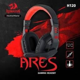 Headset RedDragon gaming Ares H120 alta qualidade