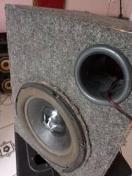 Caixa de som passiva alto-falante de 10 polegadas 800 RMS bobina dupla