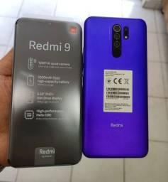 Título do anúncio: Redmi 9 64Gb/4Gb de ram roxo e cinza - Lacrados a pronta entrega