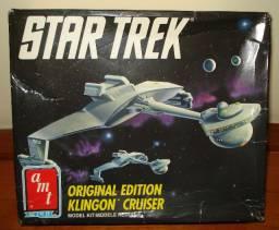 Star Trek Klingon Cruiser Amt Para Montar