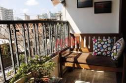 Título do anúncio: Apartamento com 4 dormitórios à venda, 180 m² por R$ 780.000,00 - Ponta da Praia - Santos/