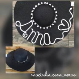 Chapéu e acessórios femininos