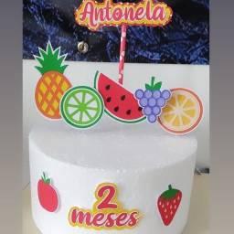 Topo de bolo personalizados