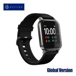 Haylou Smartwatch 2 Ls02 Preto Global Relógio Inteligente Bluetooth 5.0