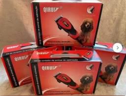 Kit Maquina Tosa Profissional Cães Gatos Pet Cortar Pelos, economize