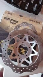 Disco freio Dianteiro Bros / Titan / fan