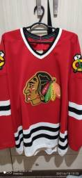 Camiseta chicago blackhawks Vintage hóquei