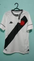 Camisa do Vasco Branca Masculina 2020/21 - Em Estoque