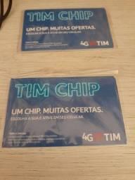 Título do anúncio: Tim Chip 4G escolha a sua e ative em seu celular