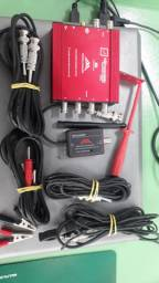 Osciloscopio new tecnoscopio 4 canais