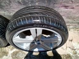Roda 17 com pneus zero