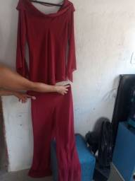 Título do anúncio: Conjunto calça e blusa tecido!!!
