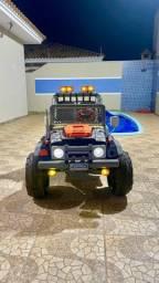 Jeep eletrico infantil