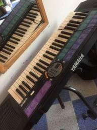 Título do anúncio: Vendo teclado marca Yamaha