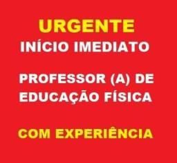 Urgente Vaga de Emprego Para Professora de Educação Física com Experiência na EI e EF
