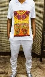 Camisa Polo - Atabaque Afro