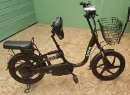 "Bicicleta elétrica aro 18"""