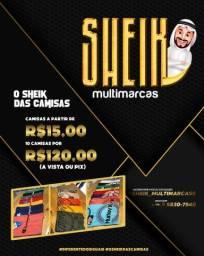 Camisas R$15,00