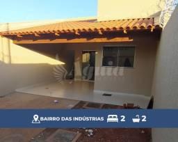 Título do anúncio: Casa com 2 quartos no Bairro das Indústrias, Senador Canedo