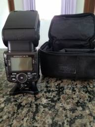 Kit nikon 70-300vr Flash sb700 e Rádio Flash