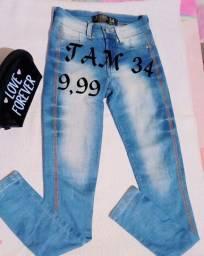 Título do anúncio: Bazar de Calça Jeans