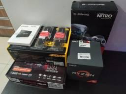 Kit Amd Ryzen + RX480 8Gb Nitro+