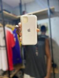 Título do anúncio: Cases iphone 11  Branca/Transparente Azul bebê