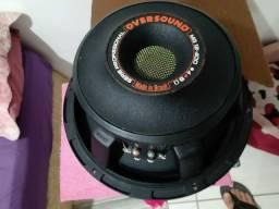 Oversound Woofer 12 Mg 400w Rms 8 Ohms Mg 12 acompanha a caixa de brinde