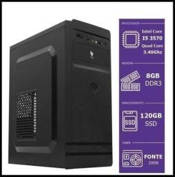 Gabinete Pichau/ I5 3570 Up 3.80Ghz / 8Gb De Memoria / Ssd 120Gb/ W10 Pro