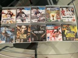 10 jogos originais de PS3