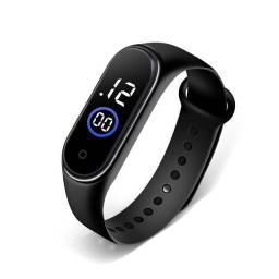 Título do anúncio: Relógio de Pulso Digital Mi Band 3 com LED 50m prova d'água