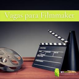 Vaga para Filmmaker - Criação de Vídeos