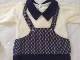 Saída De Maternidade Unissex- Kit Com 4 Peças