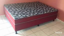 cama box casal 07 cm de espuma com entrega gratis