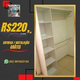 Título do anúncio: Closet COM ENTREGA e instalação grátis
