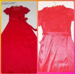 Título do anúncio: Vestido vermelho