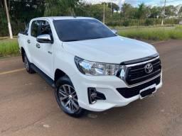 Toyota Hilux 2020 SRV 2.8 Diesel 4x4 Automática / 22mil km / zerada / tro.co e financio
