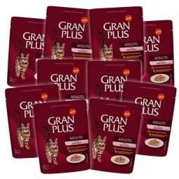 Sachê Granplus 10 unidades por apenas 22 reais