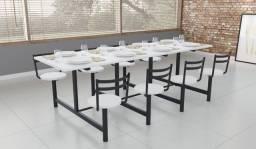 Mesa para refeitorio direto de fábrica