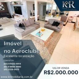 Título do anúncio: Cobertura com 5 dormitórios à venda, 430 m² por R$ 2.000.000 - Aeroclube - João Pessoa/PB