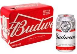 Título do anúncio: Budweiser a preço de custo - Cerveja lata 350 ml