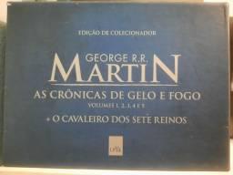 Box Game of Thrones edição de colecionador.